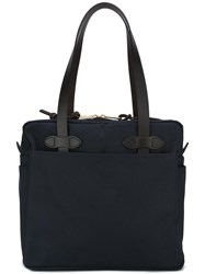 Filson Zip Up Tote Bag Blue