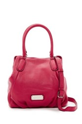 Marc By Marc Jacobs New Q Fran Leather Satchel Pink