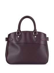 Louis Vuitton 2008 Passy Pm Tote Bag Purple