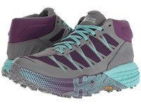 Hoka One One Speedgoat Mid Wp Grape Royale Alloy Running Shoes Multi