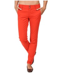Mountain Khakis Sadie Skinny Chino Pants Tomato Women's Casual Pants Red