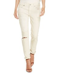 Polo Ralph Lauren Astor Slim Boyfriend Jeans Cream