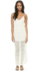 Liv Grace Lace Maxi Dress White
