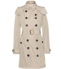 Burberry Balmoral Trench Coat Green