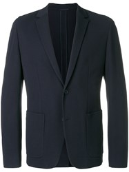 Calvin Klein Casual Single Breasted Blazer Blue