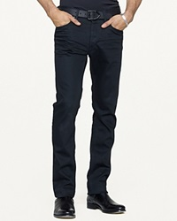 Ralph Lauren Black Label Straight Fit Stretch Jean Panther Black