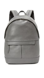 Michael Kors Odin Leather Backpack Grey