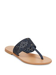 Joie A La Plage Leather Sandals Ocean