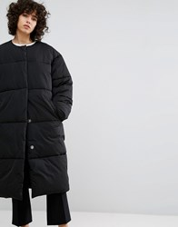 Weekday Padded Coat Black
