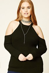Forever 21 Plus Size Open Shoulder Sweater