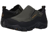 Merrell Polarand Rove Moc Waterproof Castle Rock Men's Slip On Shoes Black