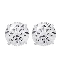 Carat 2Ct Eternal Stud Earrings Female