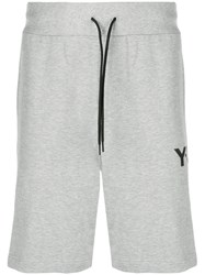 Y 3 Basic Track Shorts Grey