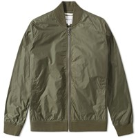 Norse Projects Ryan Light Ripstop Bomber Jacket Green