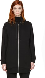Alexander Wang T By Black French Terry Hoodie