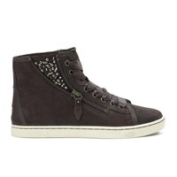 Ugg Australia Women's Blaney Crystals Hi Top Trainers Chocolate Brown