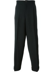 Jean Paul Gaultier Vintage Tailored Trousers Black