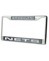Rico Industries Brooklyn Nets License Plate Frame Team Color
