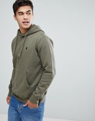 French Connection Overhead Hoodie Green