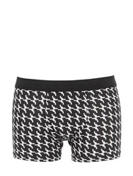 Dolce And Gabbana Guns Printed Cotton Jersey Boxer Briefs