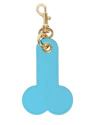 J.W.Anderson Leather Key Holder Ocean Blue