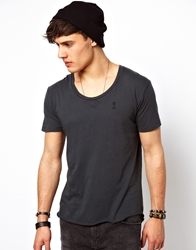 Religion Basic T Shirt With Scoop Neck Darkmetal