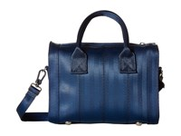 Harveys Seatbelt Bag Mini Marilyn Satchel Indigo Satchel Handbags Blue