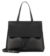 Mansur Gavriel Lady Leather Shoulder Bag Black