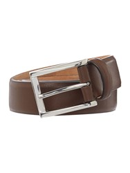 Howick Smart Feathered Edge Belt Brown