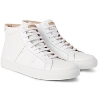 Greats The Royale High Leather High Top Sneakers White