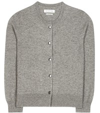 Etoile Isabel Marant Kallie Cotton And Wool Cardigan Grey