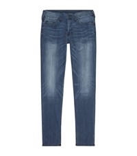 True Religion Rocco Super Stretch Relaxed Skinny Jeans Male Blue