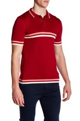 Parke And Ronen Jet Age Polo Red