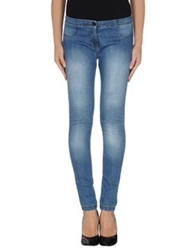 Blugirl Folies Denim Pants Blue