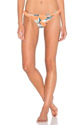 Minkpink Enchanted Forest Bikini Bottom Orange