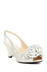 J. Renee Kindly Slingback Pump Wide Width Available Gray