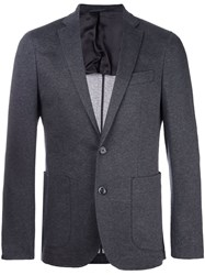 Hackett Jersey Stretch Blazer Grey
