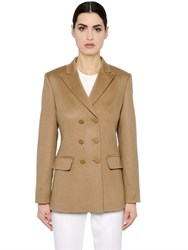 Max Mara Double Breasted Camel Jacket