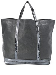 Vanessa Bruno Sequin Embellished Tote Black