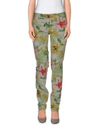 Roy Rogers Roy Roger's Trousers Casual Trousers Women Acid Green