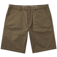 Fred Perry Sharp Twill Short Green