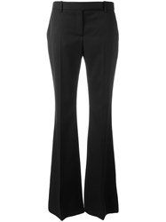 Alexander Mcqueen Flared Trousers Black