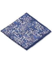 Ryan Seacrest Distinction Botanical Pocket Square Purple