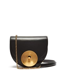 Marni Monile Leather Cross Body Bag Black