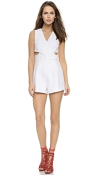 Finders Keepers Moonlight Romper White
