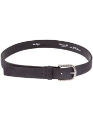 Scunzani Ivo Speckled Leather Belt Brown