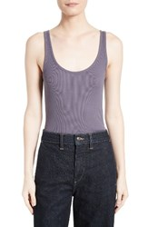 Vince Women's Pima Cotton And Modal Tank