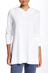 Central Park West The Kollhaas Slub Knit Hoodie White