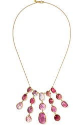 Pippa Small 18 Karat Gold Spinel Necklace Usd