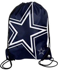Forever Collectibles Dallas Cowboys Big Logo Drawstring Bag Team Color